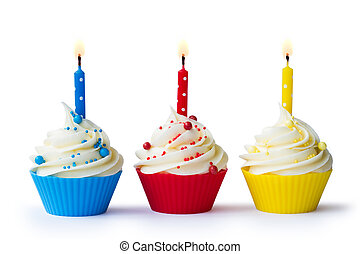 Cupcakes, Tre, compleanno