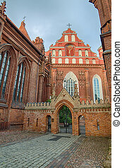 Churches in Vilnius, Lithuania