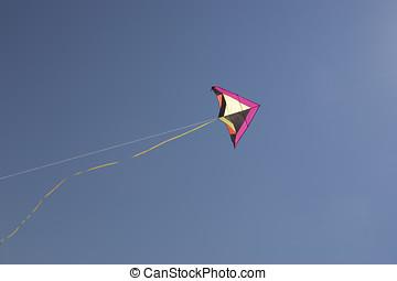 Kite in the sky.