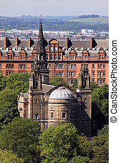 St Cuthbert\'s Church, Princes St Gardens, Edinburgh - The...