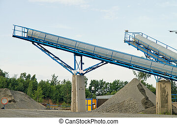 Belt conveyors - Mining in the quarry