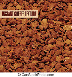 freeze dried coffee granules - brown freeze dried coffee...