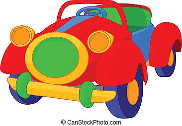 Toy cabriolet - Very cute retro toy car