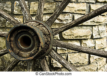Cartwheel - Wood cartwheel