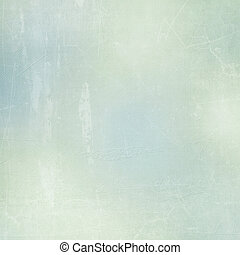 Textured paper background in green, beige  and blue