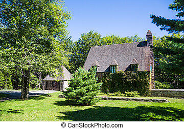 Old Carriage House in Maine - An old rustic carriage house...