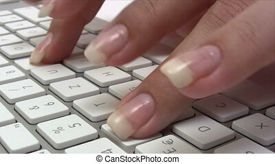 Writing an Email - Canon HV30. HD 16:9 1920 x 1080 @ 25.00...