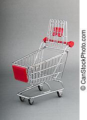 compras, carrito, seamless, Plano de fondo