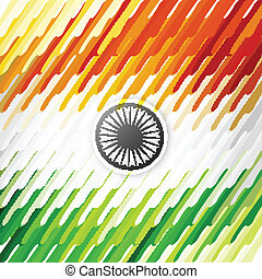 Indian flag texture Independence Day beautiful background vector