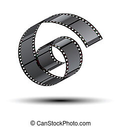 film stripe curl