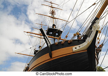 Brig Amity - Replica Brig Amity, first recorded ship to...