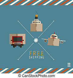 Free shipping carriers made of
