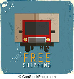 Free shipping truck