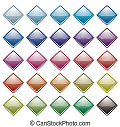 rainbow diamond variation