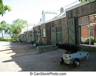 cannons - old barrack and cannons