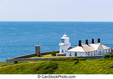Anvil Point Lighthouse - The 1881 Anvil Point Lighthouse on...