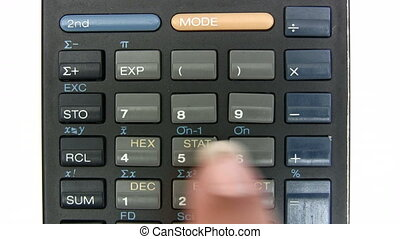 Calculating - Canon HV30. HD 16:9 1920 x 1080 @ 25.00 fps....