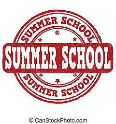 Summer school stamp