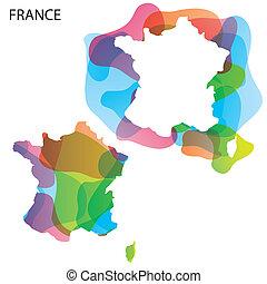 Design Map of France