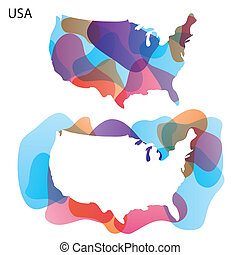 Design Map of USA