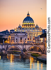 Basilica St Peter in Rome, Italy
