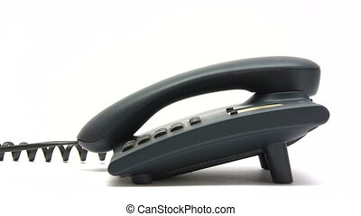 Making a Phone Call - Canon HV30. HD 16:9 1920 x 1080 @...