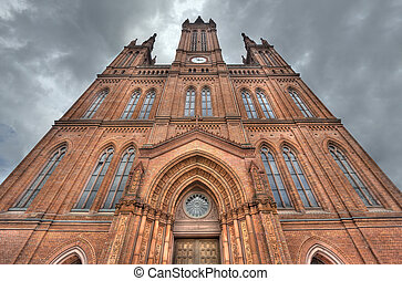 Marktkirche Church in Wiesbaden, Germany - The Marktkirche...