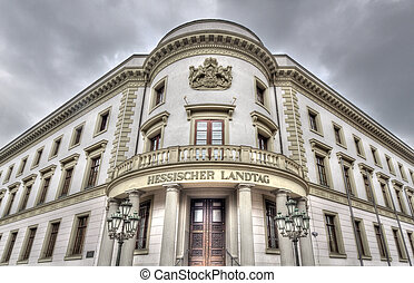 Wiesbaden Hessischer Landtag - Hessischer Landtag government...