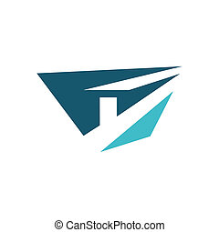 Metallurgy industry sign - Branding identity corporate logo...