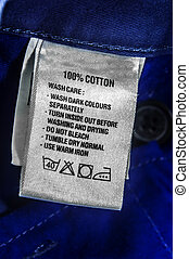 Washing instructions - Washing and wash care instructions...