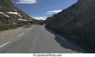 Panoramic Drive, Hjelledalen, Norway native camera output,...