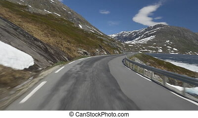Panoramic Drive, Hjelledalen, Norway