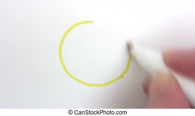 Painting a Smiley - Canon HV30 HD 16:9 1920 x 1080 2500 fps...