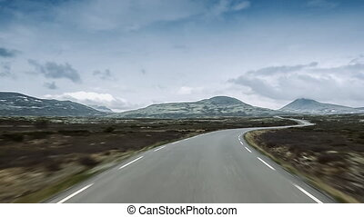 Scenic Drive, Rondane Nationalpark, Norway