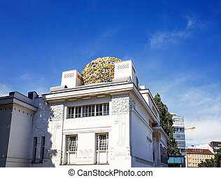 Vienna Secession Building was formed in 1897 - VIENNA,...
