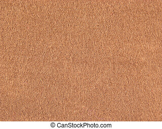 Background felt light brown