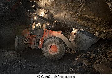 a mine of slate near Genoa, tipical ligurian stone - a mine...