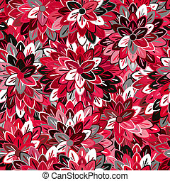 Multicolored Seamless Floral Pattern