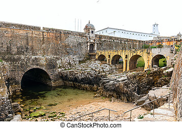 Fort of Peniche (Portugal) - Prison in Fort of Peniche...