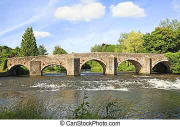 Old Stone Bridge and arches - Old stone Bridge and arches...