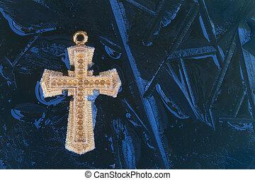 Blue Ice Cross