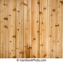 Cedar plank background - Background of wooden red cedar...