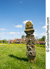 Grave yard at Dutch Terschelling