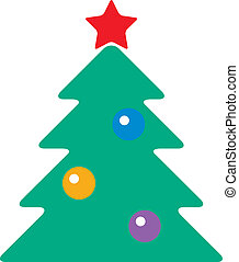 fir-tree with toys