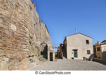 "Ancient Village ""Castle"" in the island of Giglio, Tuscany..."