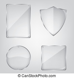 Glass frame collection
