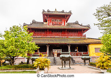 The Forbidden City at Hue, Vietnam
