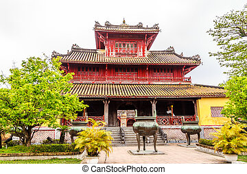 The Forbidden City at Hue, Vietnam