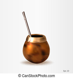 A calabash with a bombilla_expand