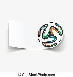 Soccer football ball